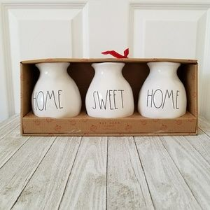 Rae Dunn Kitchen - Rae Dunn HOME SWEET HOME Vase Set